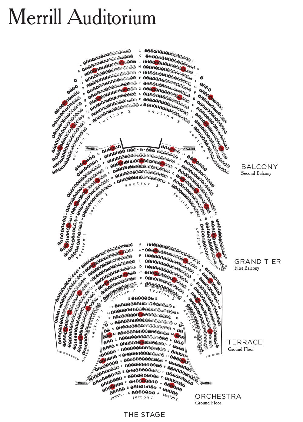 Merrill Auditorium Seating Chart Jerry Seinfeld Tickets